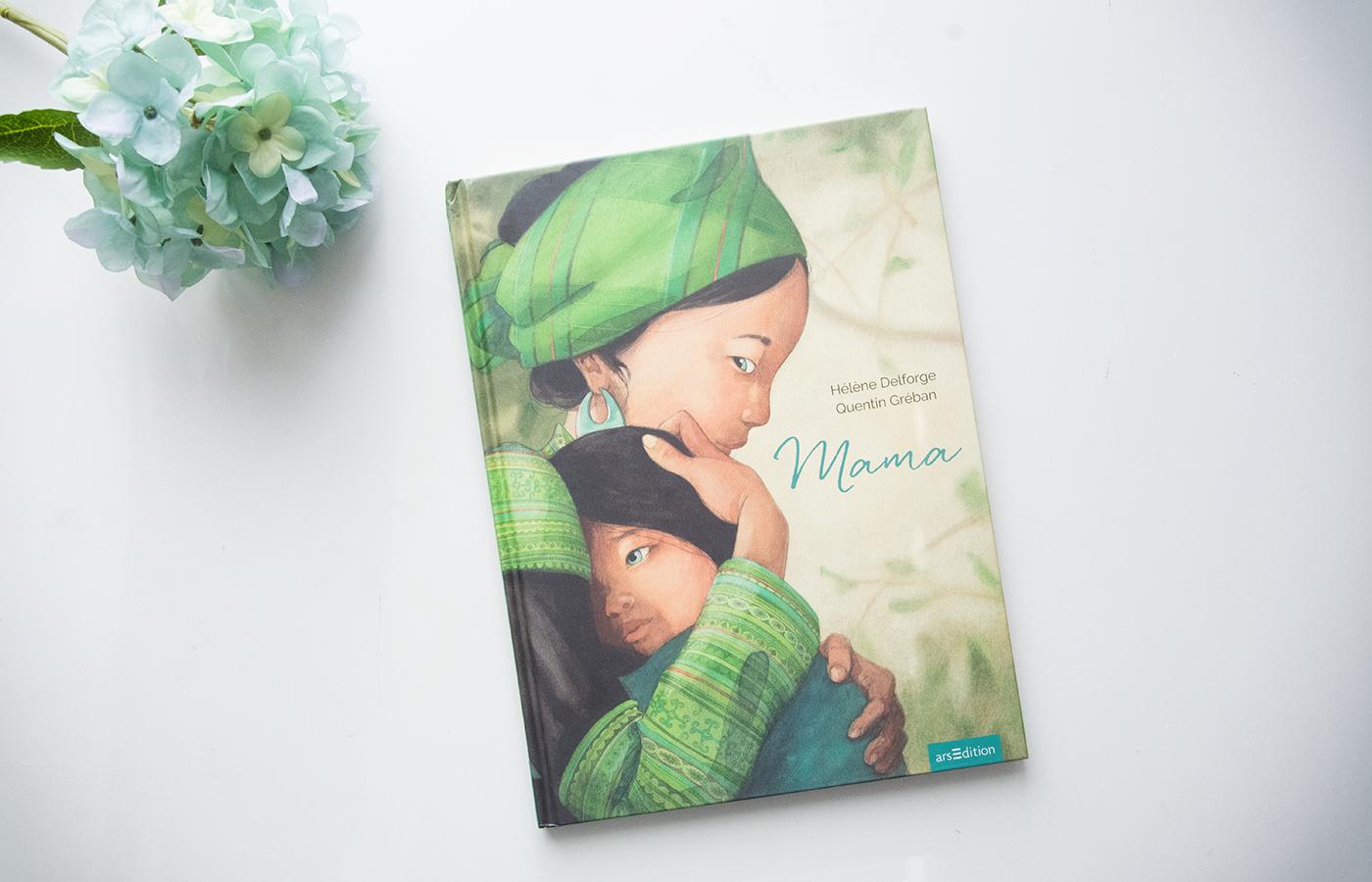 Literaturbesprechung:  »Mama« von Hélén Delforge und Quentin Gréban