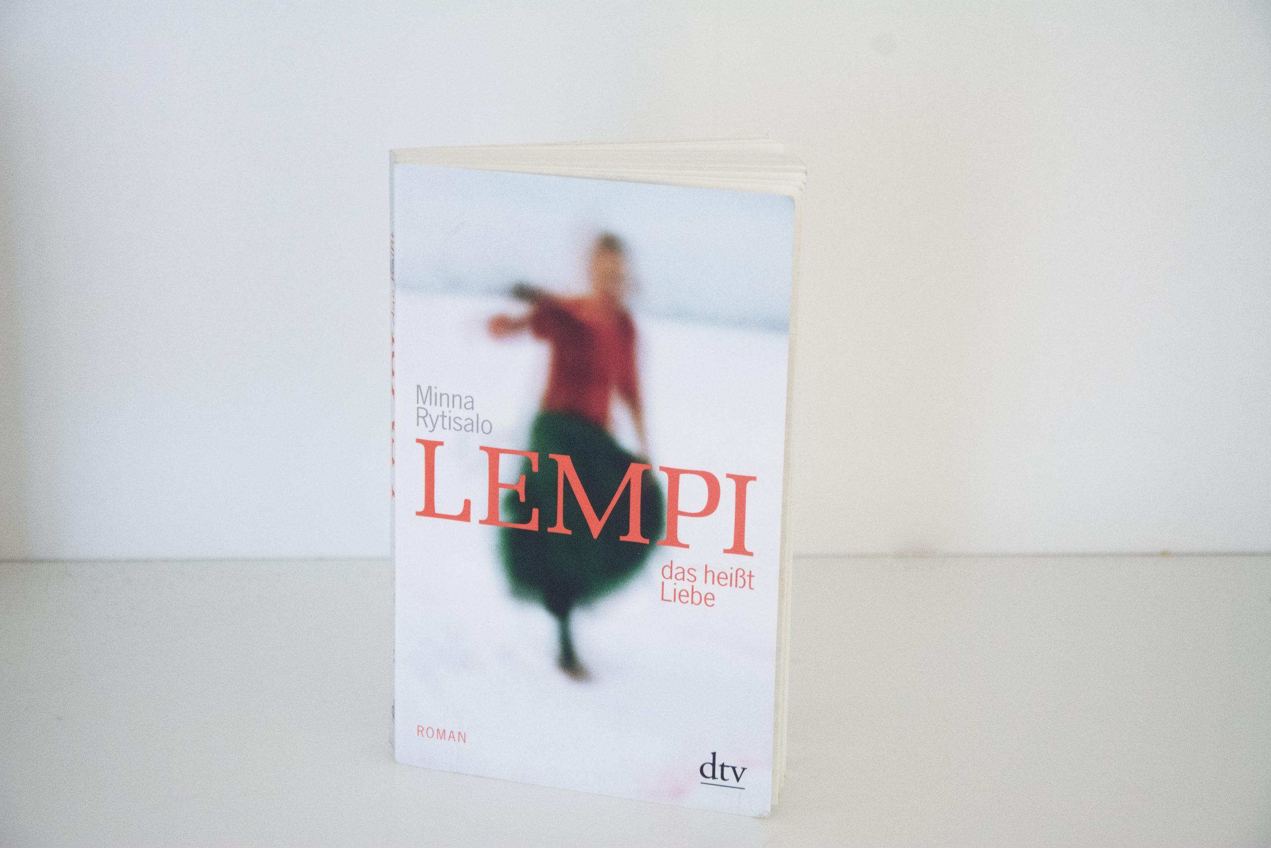 Literaturbesprechung:  »Lempi, das heißt Liebe« von Minna Rytisalo