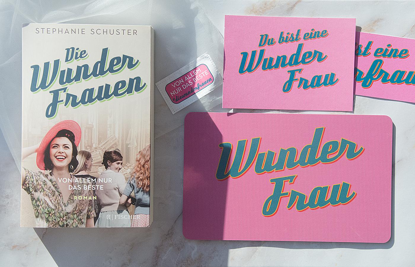 Leserunde bei LovelyBooks: Überraschungspäckchen zu Stephanie Schusters »Die Wunderfrauen – Von allem nur das Beste«