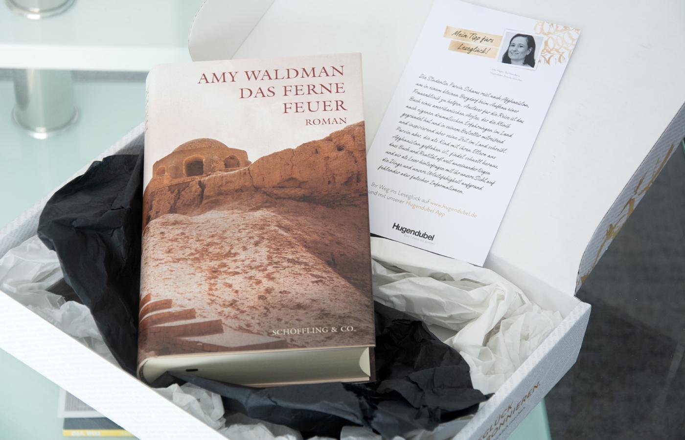 Leseglück von Hugendubel #3: »Das ferne Feuer« von Amy Waldman